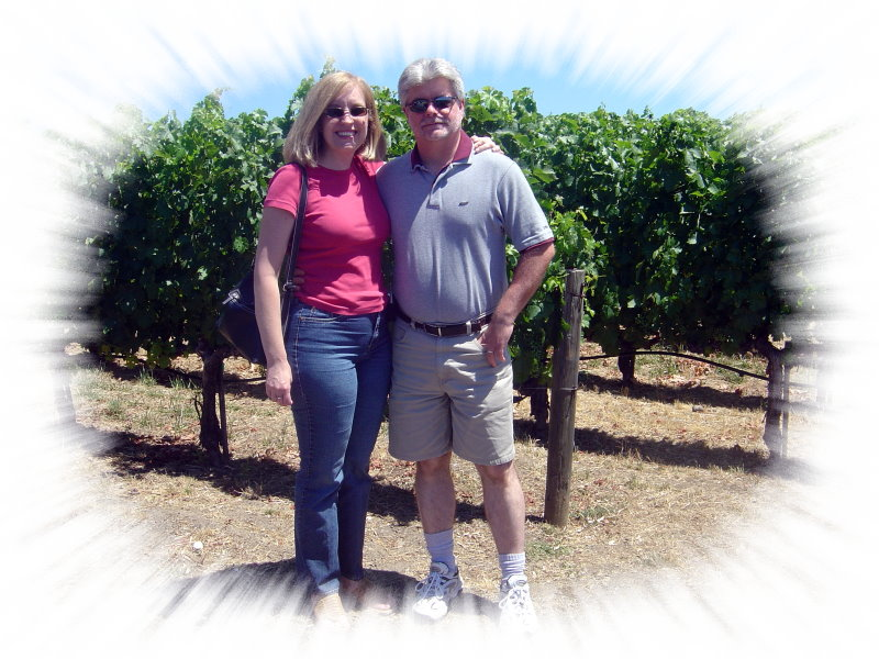 Karen and Jerry in Napa 07